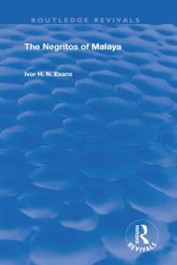 Cover Negritos of Malaya
