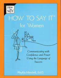 Cover How To Say It for Women