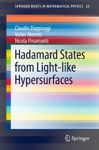 Cover Hadamard States from Light-like Hypersurfaces