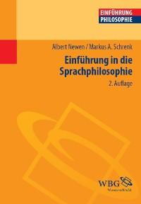 Cover Einführung in die Sprachphilosophie