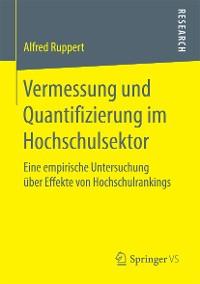 Cover Vermessung und Quantifizierung im Hochschulsektor