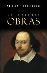 Cover Box Grandes Obras de Shakespeare (27 pecas: Hamlet, Rei Lear, Romeu e Julieta, Otelo, O Mercador de Veneza, Sonho de uma Noite de Verao...)