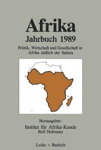 Cover Afrika Jahrbuch 1989