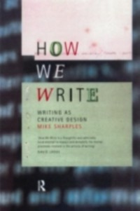 Cover How We Write