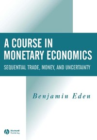 Cover A Course in Monetary Economics