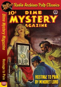 Cover Dime Mystery Magazine - Hostage to Pain