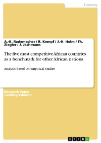 Cover The five most competitive African countries as a benchmark for other African nations
