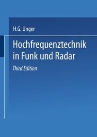 Cover Hochfrequenztechnik in Funk und Radar