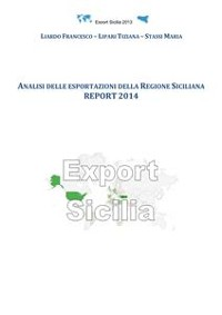 Cover Analisi delle esportazioni della Regione Siciliana report 2014