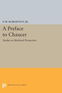 Cover A Preface to Chaucer
