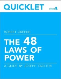 Cover Quicklet on Robert Greene's The 48 Laws of Power (CliffNotes-like Book Summary and Analysis)