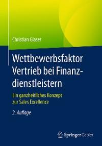 Cover Wettbewerbsfaktor Vertrieb bei Finanzdienstleistern
