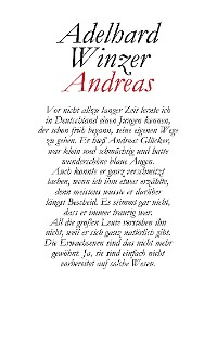 Cover Andreas