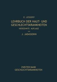 Cover Lehrbuch der Haut- und Geschlechtskrankheiten