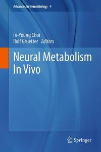 Cover Neural Metabolism In Vivo