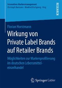 Cover Wirkung von Private Label Brands auf Retailer Brands