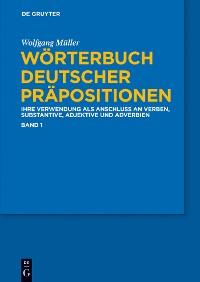Cover Wörterbuch deutscher Präpositionen