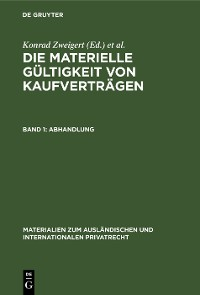 Cover Abhandlung