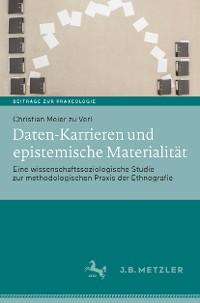 Cover Daten-Karrieren und epistemische Materialität