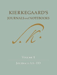 Cover Kierkegaard's Journals and Notebooks, Volume 1