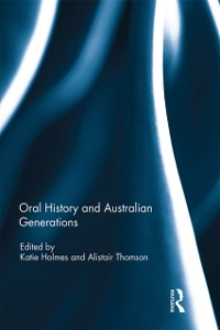 Cover Oral History and Australian Generations