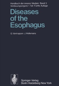 Cover Diseases of the Esophagus