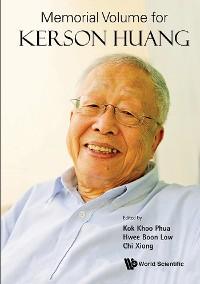 Cover Memorial Volume For Kerson Huang