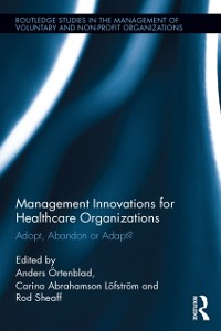 Cover Management Innovations for Healthcare Organizations