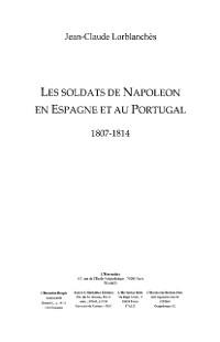 Cover Soldats de napoleon en  espagne et au po
