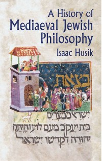 Cover A History of Mediaeval Jewish Philosophy