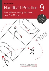 Cover Handball Practice 9 - Basic offense training for players aged 9 to 12 years