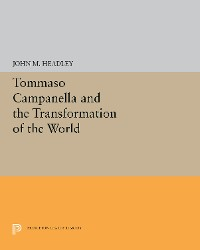 Cover Tommaso Campanella and the Transformation of the World
