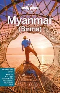 Cover Lonely Planet Reiseführer Myanmar (Burma)