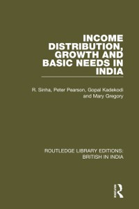 Cover Income Distribution, Growth and Basic Needs in India