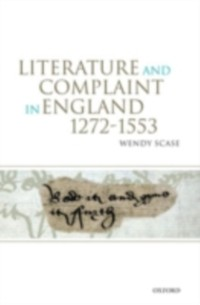 Cover Literature and Complaint in England 1272-1553