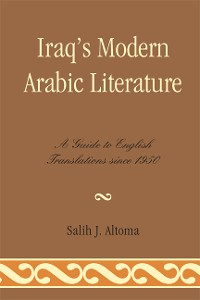Cover Iraq's Modern Arabic Literature