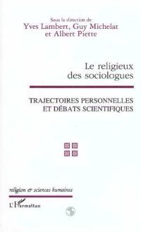 Cover LE RELIGIEUX DES SOCIOLOGUES