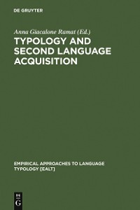 Cover Typology and Second Language Acquisition