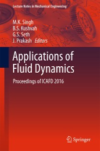 Cover Applications of Fluid Dynamics