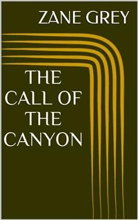 Cover The Call of the Canyon