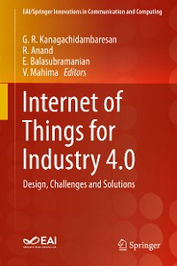 Cover Internet of Things for Industry 4.0