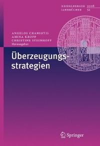 Cover Überzeugungsstrategien