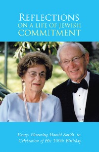 Cover Reflections on a Life of  Jewish Commitment