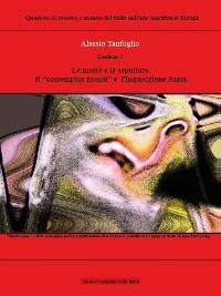 Cover Quaderno 3 - La morte e la sepoltura, il contempus mundi e  l'Inquisizione Santa