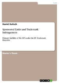 Cover Sponsored Links and Trademark Infringement