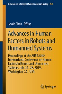 Cover Advances in Human Factors in Robots and Unmanned Systems