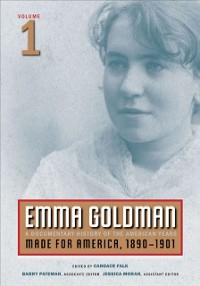 Cover Emma Goldman, Vol. 1