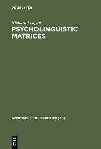 Cover Psycholinguistic Matrices