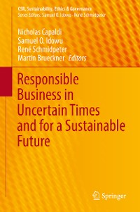 Cover Responsible Business in Uncertain Times and for a Sustainable Future