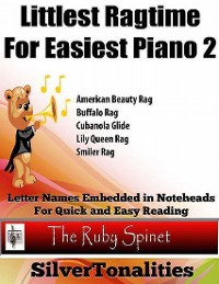 Cover Littlest Ragtime for Easy Piano 2